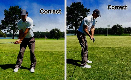 Hips Or Arms First In Golf Swing - Arms First Golf Swing