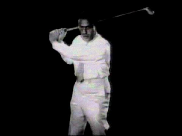 arnold palmer golf swing slow motion