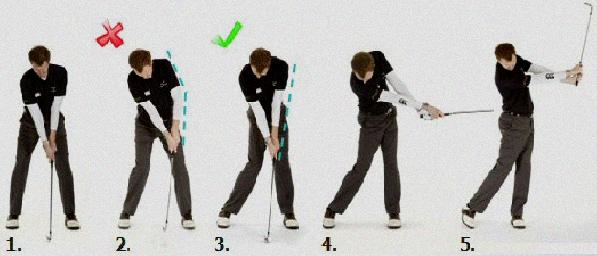 correct a slice in your golf swing