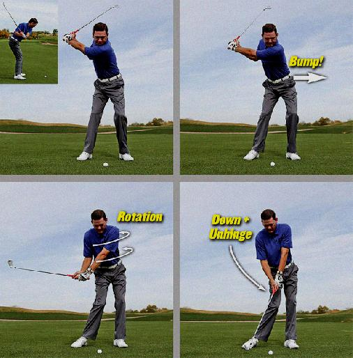 creating separation in golf swing