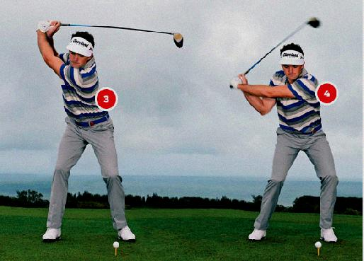 Golf Swing Left Shoulder Downswing - Golf Swing Left Shoulder Down