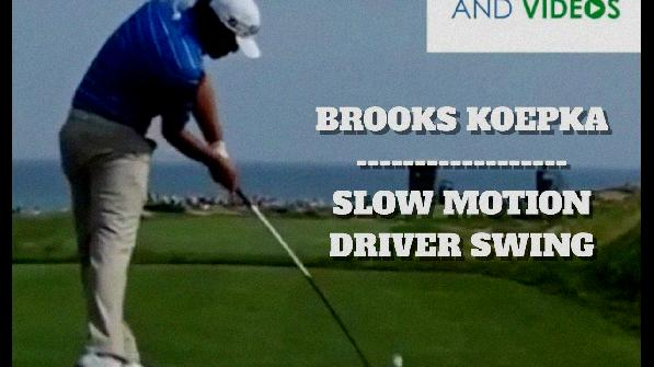golf swing slow