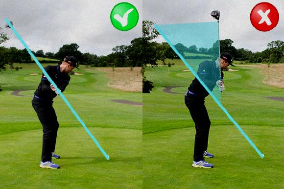golf swing transition move