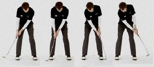 hand position golf swing