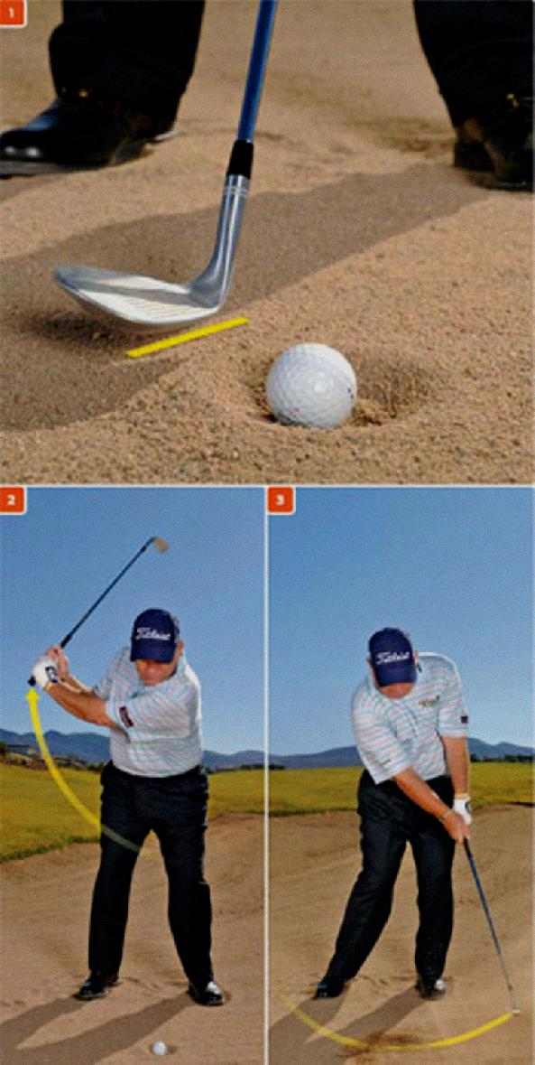 How To Stay Behind The Ball Throughout The Golf Swing - How