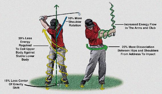 Position Of Hips In Golf Swing - Role Of Hips In Golf Swing