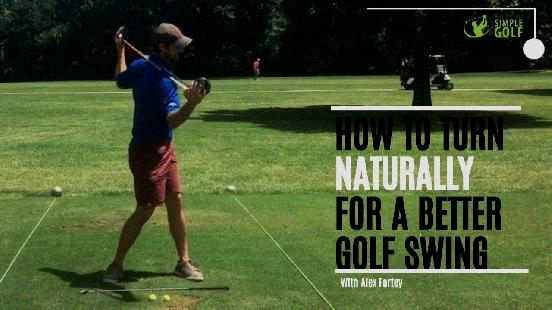 simple golf swing youtube
