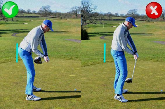 start golf swing with hips