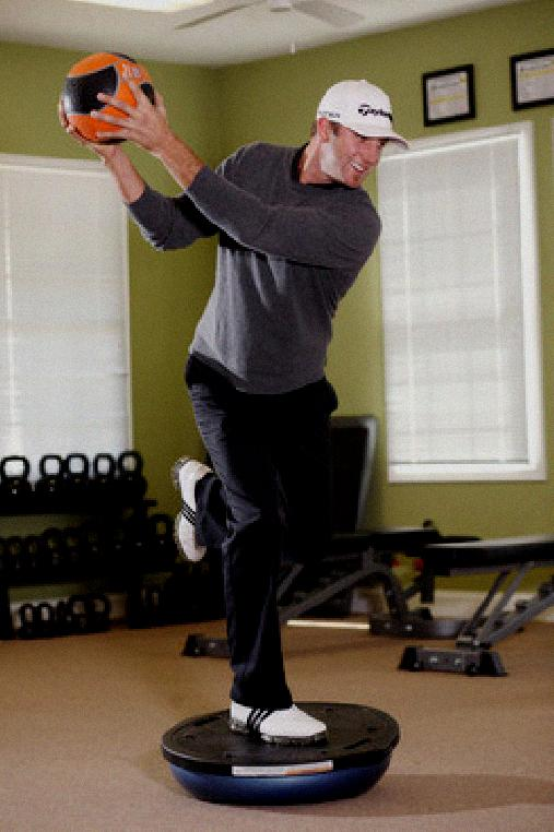strength training for golf swing
