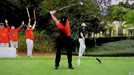 tiger golf swing slow motion